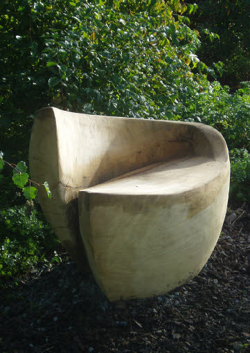 Seed boat – garden seat
